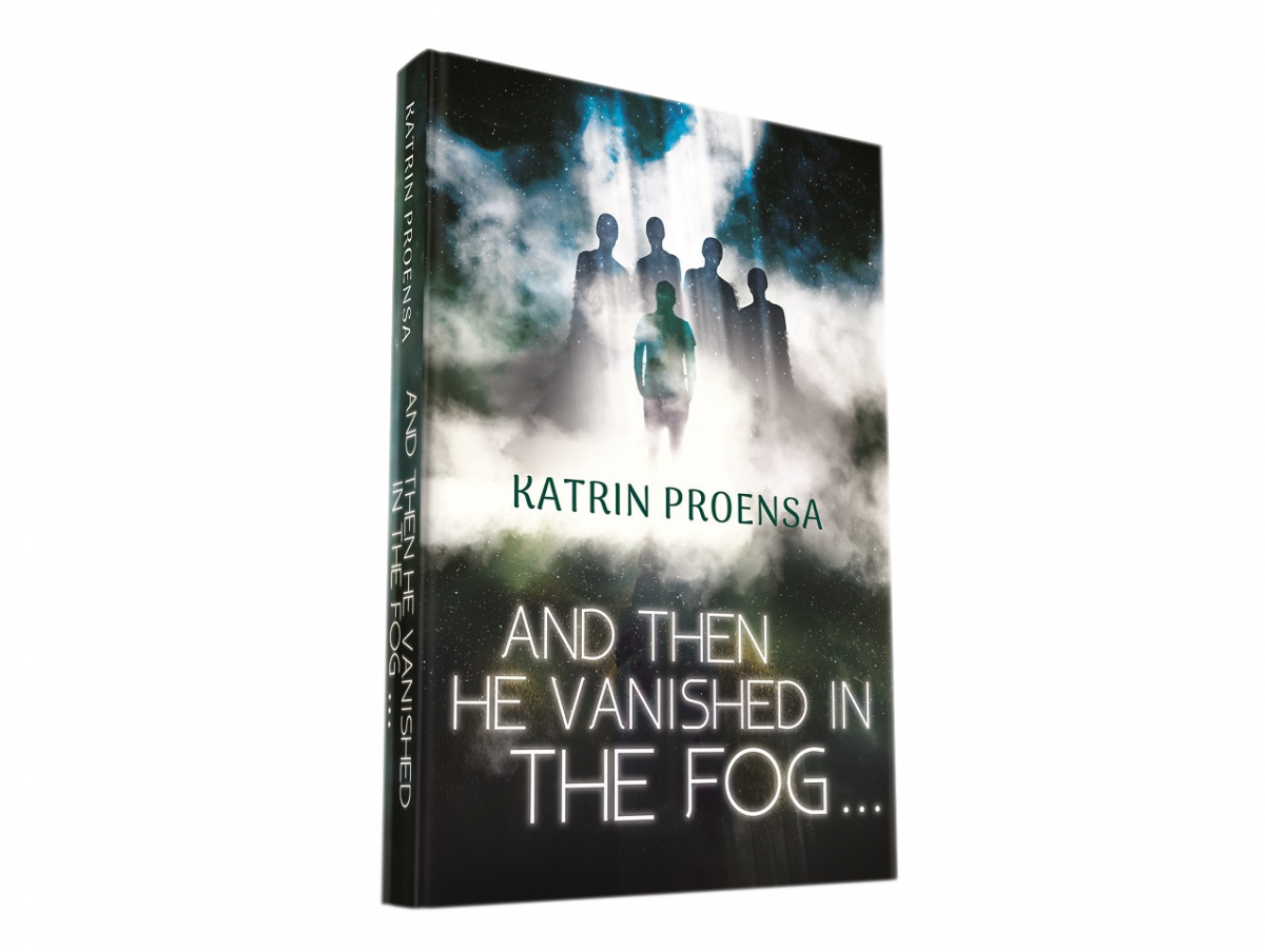 … and then he vanished in the fog …